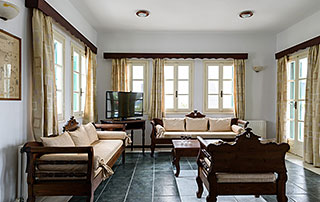 Scopios Beach Hotel, Breakfast Room